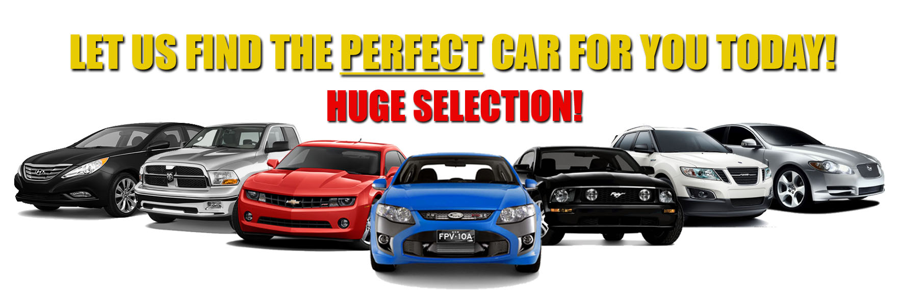 we have lots of used cars 1
